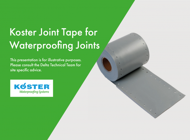 Koster Joint Tape for waterproofing joints