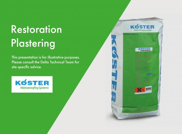 Restoration Plastering
