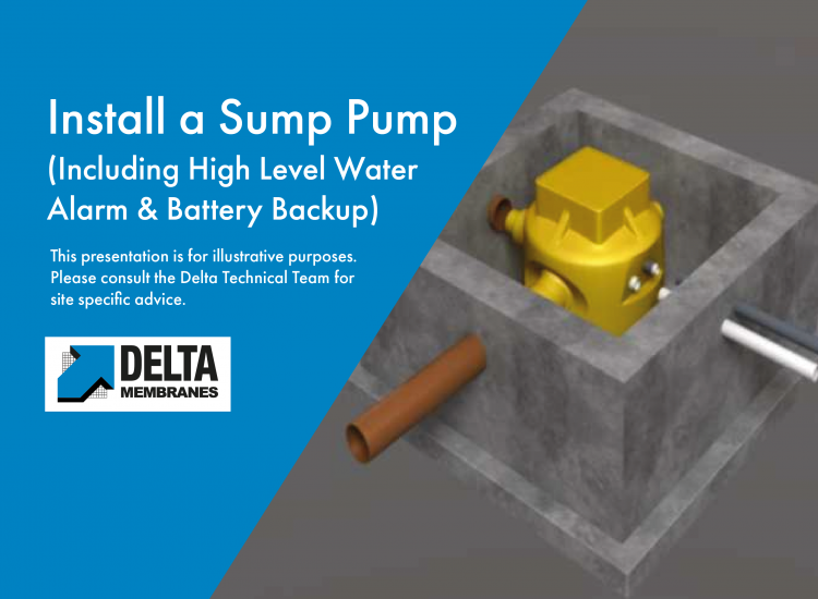 """""""How To"""" Install a Sump Pump including High Level Alarm and Battery Backup"""