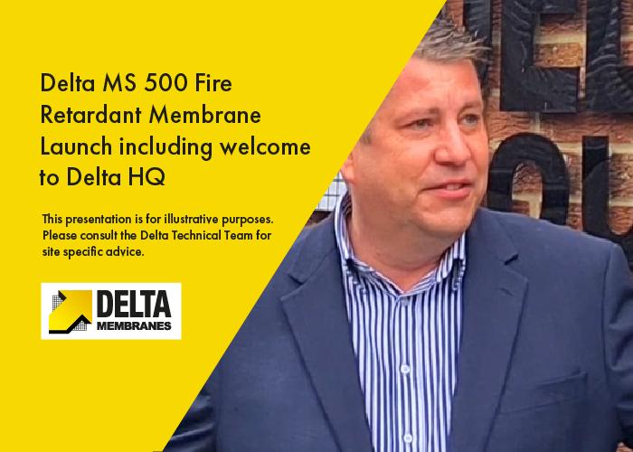 Delta MS 500 Fire Retardant Launch