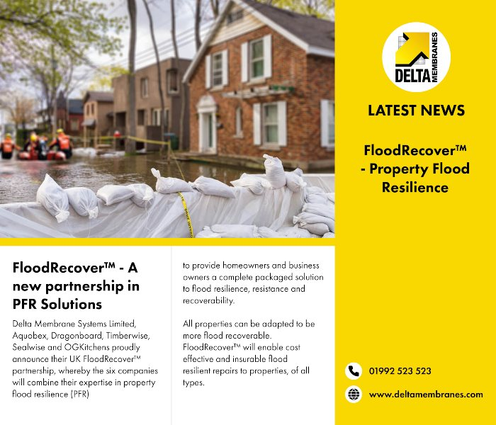 FloodRecover™ – A new partnership in PFR Solutions