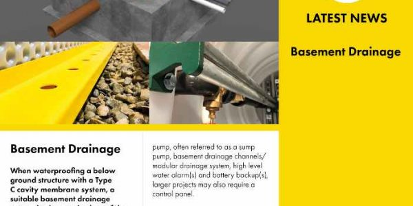 Basement Drainage for Below Ground Structures