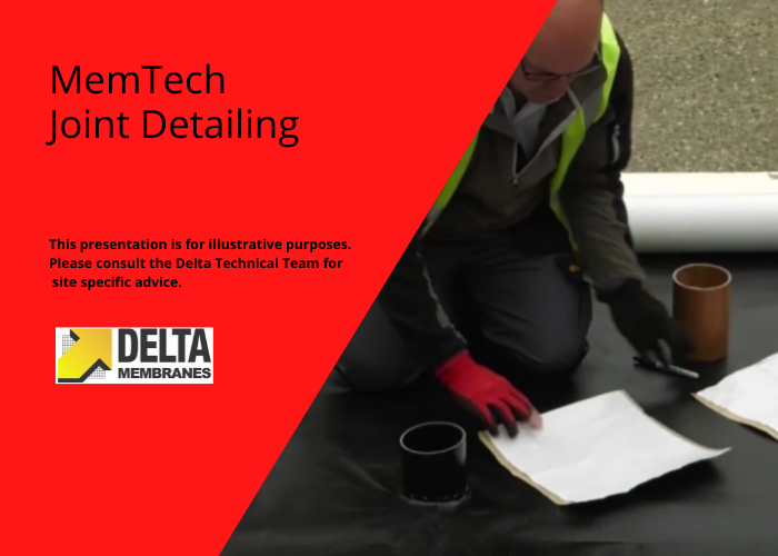MemTech Ground Gas Protection Joint Detailing Video Guide