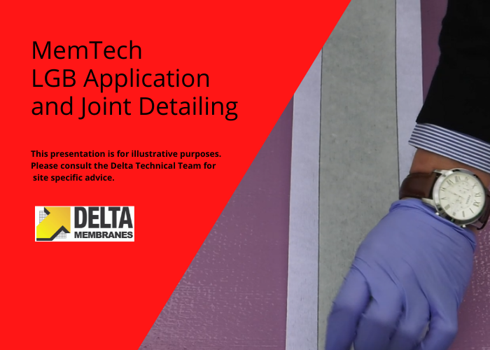 """Liquid Gas Barrier (LGB) Application & Joint Detailing """"How To"""" Video Guide"""