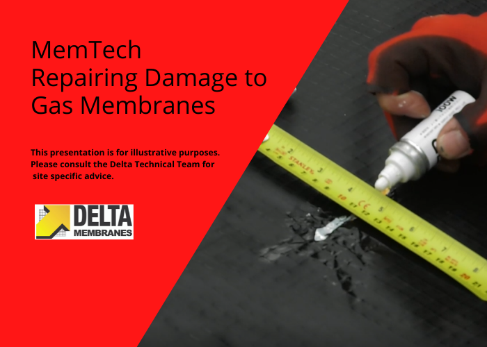 Video Guide – Patch Repair to Ground Gas Membranes