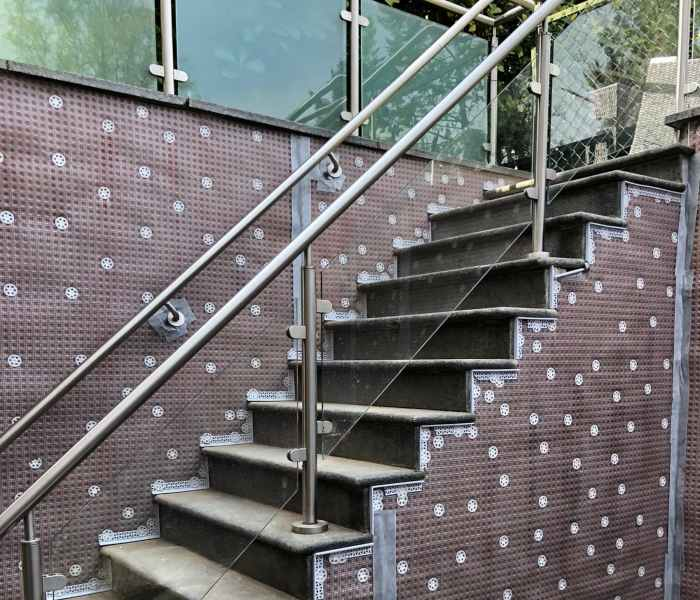 Lightwell Waterproofing Restoration