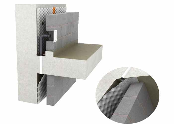 Delta Fire Retardant Cavity Drain System (Type C)