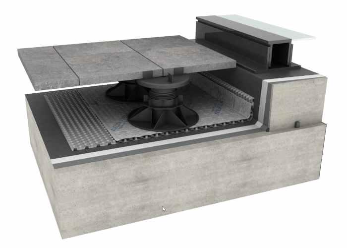 Delta Roof Guard – Cold Applied Liquid Waterproofing