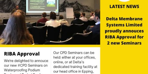 Fulfilling your CPD Requirements – Structural Waterproofing