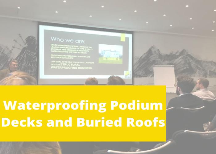 Structural Waterproofing for Podium Decks & Buried Roofs