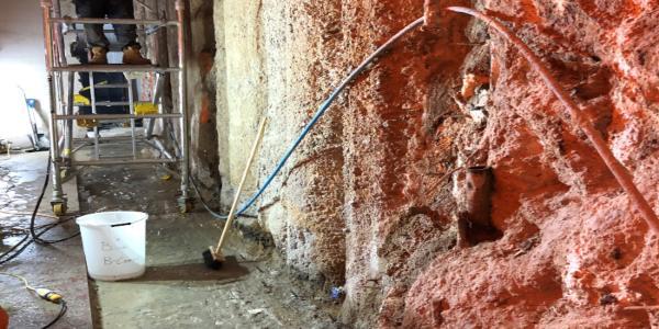 Remedial Basement Waterproofing